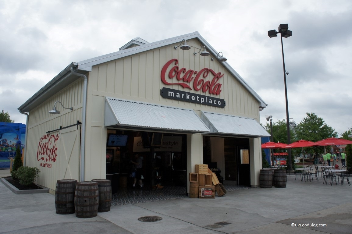 150516 Kings Island Coca-Cola Marketplace