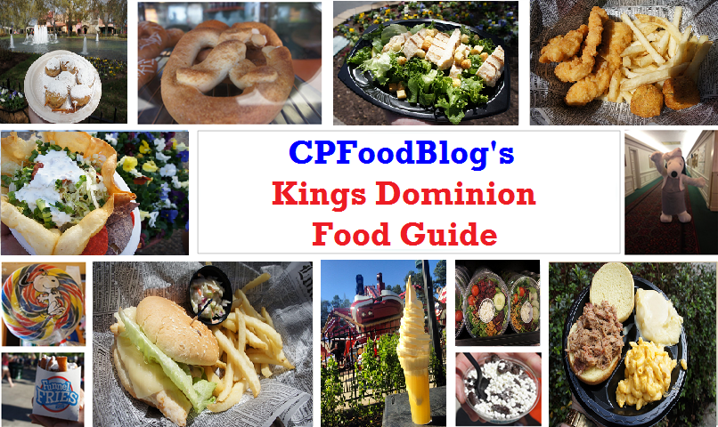 Kings Dominion Food Guide