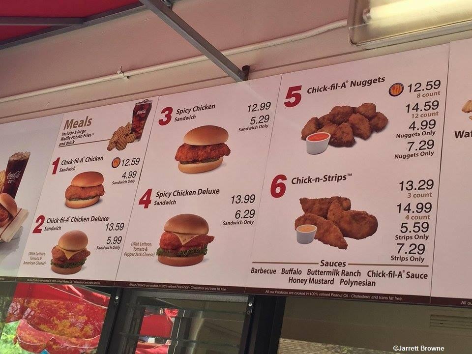 Kings Island  Food Prices