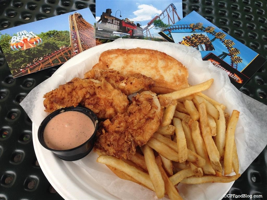 150517 Kings Island Chicken Shack Hand Breaded Tenders