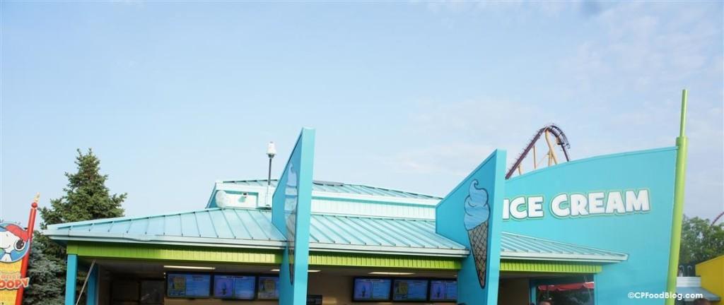 150515 Kings Island Planet Snoopy Ice Cream
