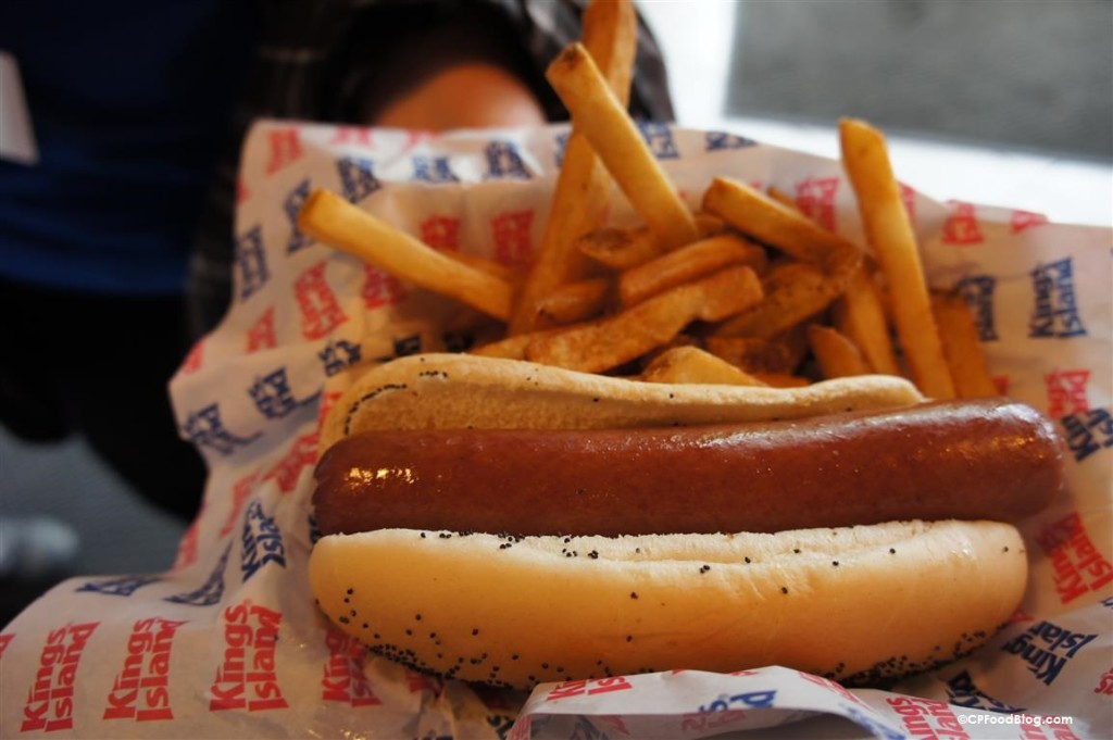 150516 Kings Island Juke Box Diner All-Beef Hot Dog