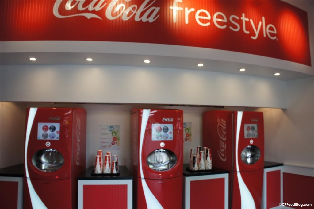 150517 Kings Island Rivertown Coca-Cola Freestyle Interior