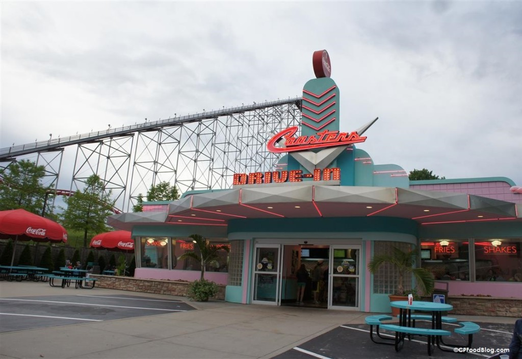 150522 Worlds of Fun Coasters Drive-In