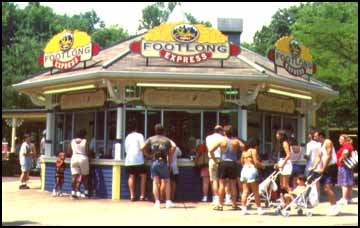 1997 Kings Island Skyline Footlong Express