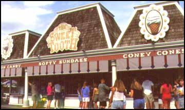 1997 Kings Island Sweet Tooth