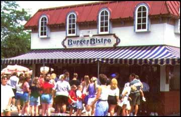 1997 Paramount's Kings Island Burger Bistro