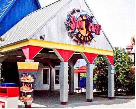 Kings Island Stunt Crew Grill