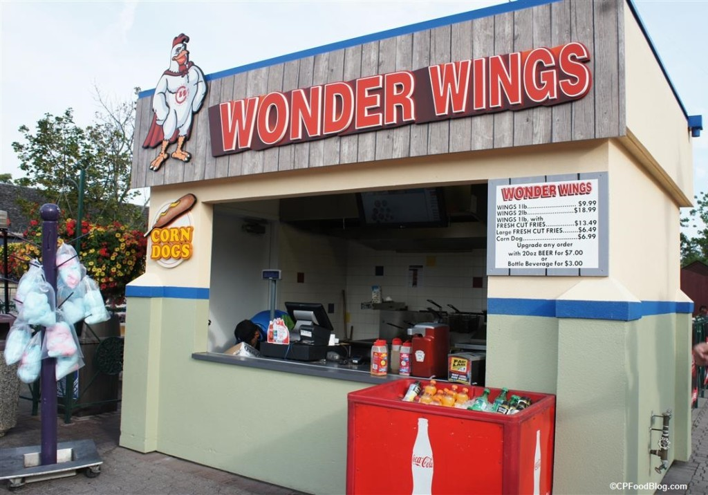 150805 Canada's Wonderland Wonder Wings