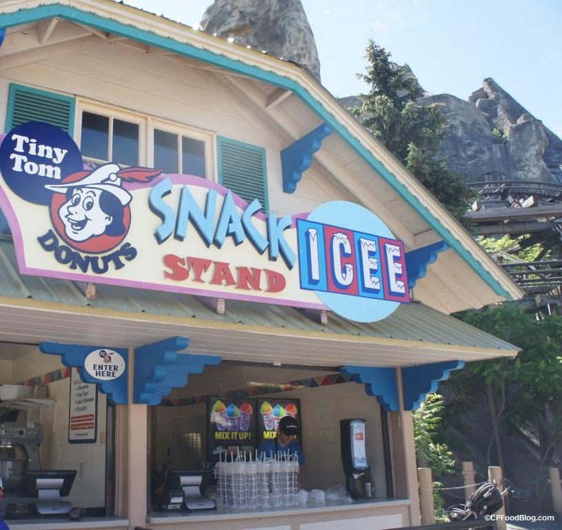 170624 Canada's Wonderland Tiny Tom Snack Stand ICEE Mix-it-Up