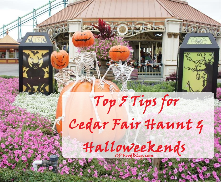 Top 5 Tips for Cedar Fair Haunt & Halloweekends
