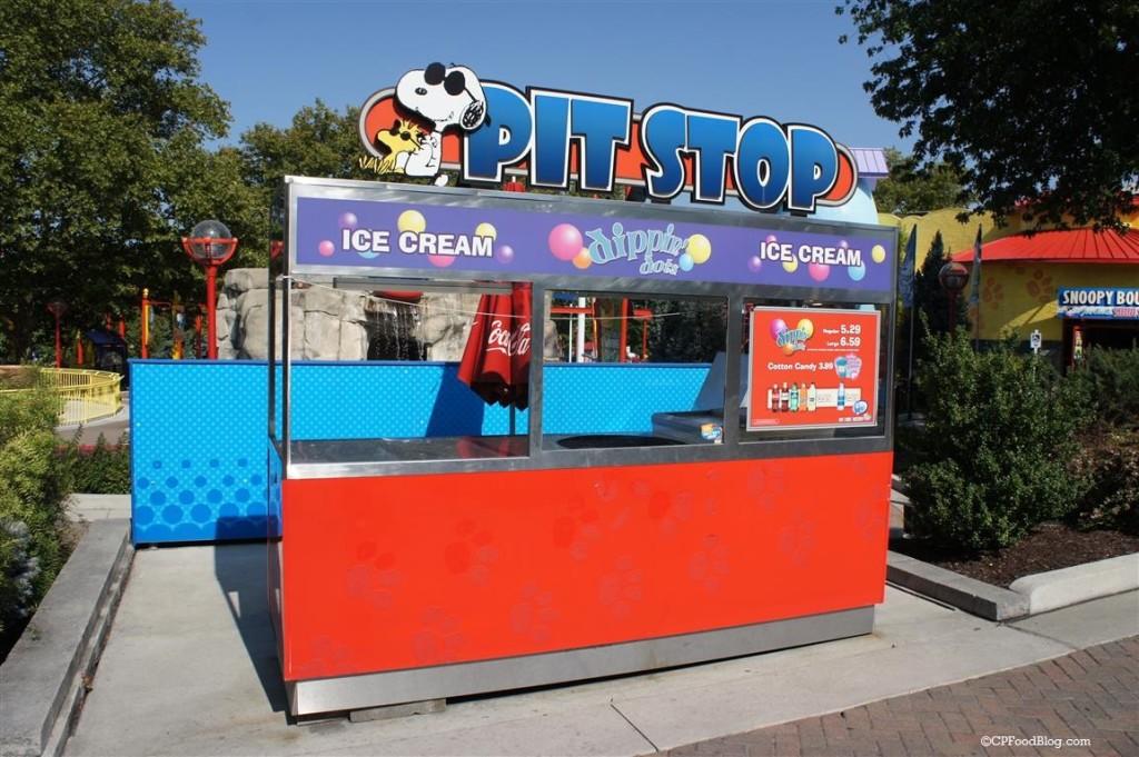 150905 Dorney Park Planet Snoopy Pit Stop
