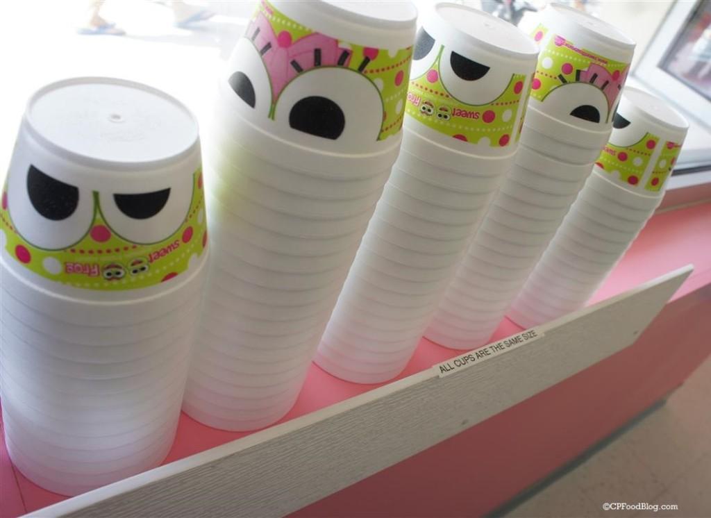 150906 Dorney Park Sweet Frog Frozen Yogurt Cups