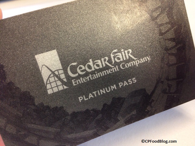 Cedar Fair Platinum Pass
