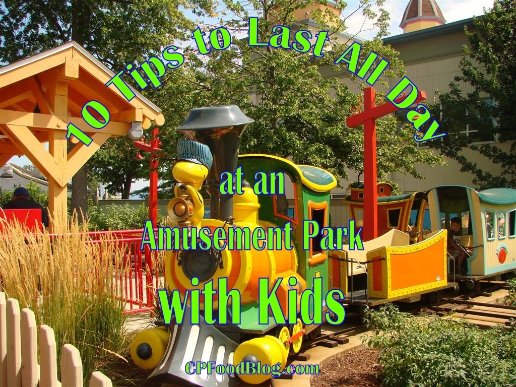 10 Tips to Last All Day at an Amusement Park with Kids