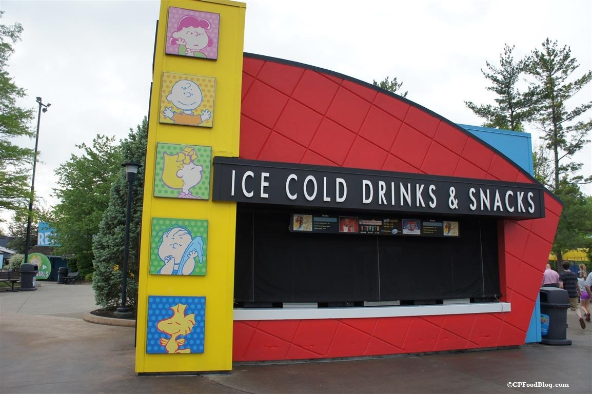 150614 Kings Island Planet Snoopy Ice Cold Drinks and Snacks
