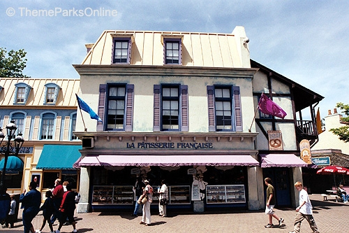 Kings Island International Street La Patisserie Francais ©WorldsofFun.org