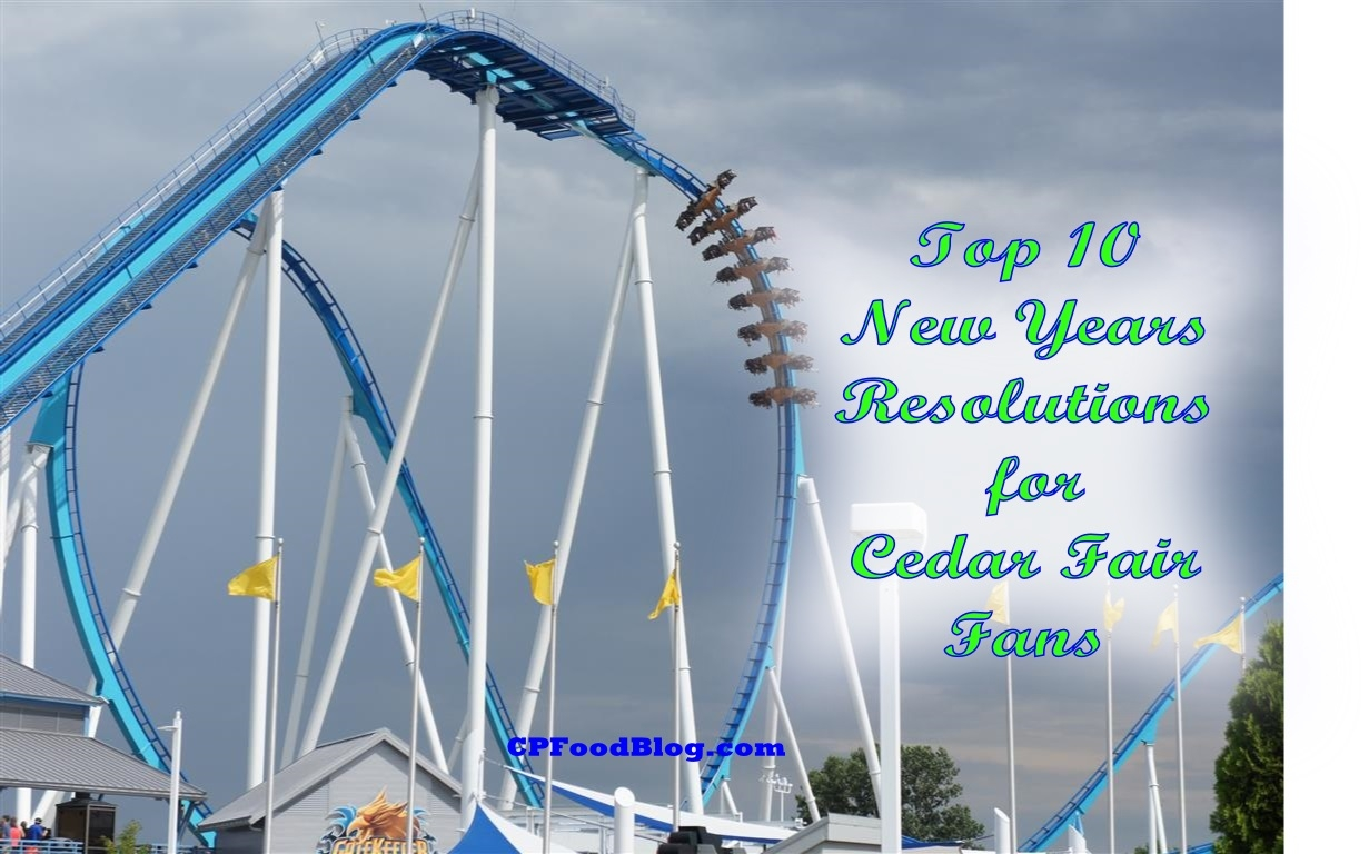 Top 10 New Years Resolutions for Cedar Fair Fans