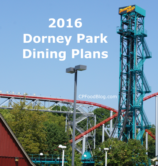 2016 Dorney Park Dining Plans