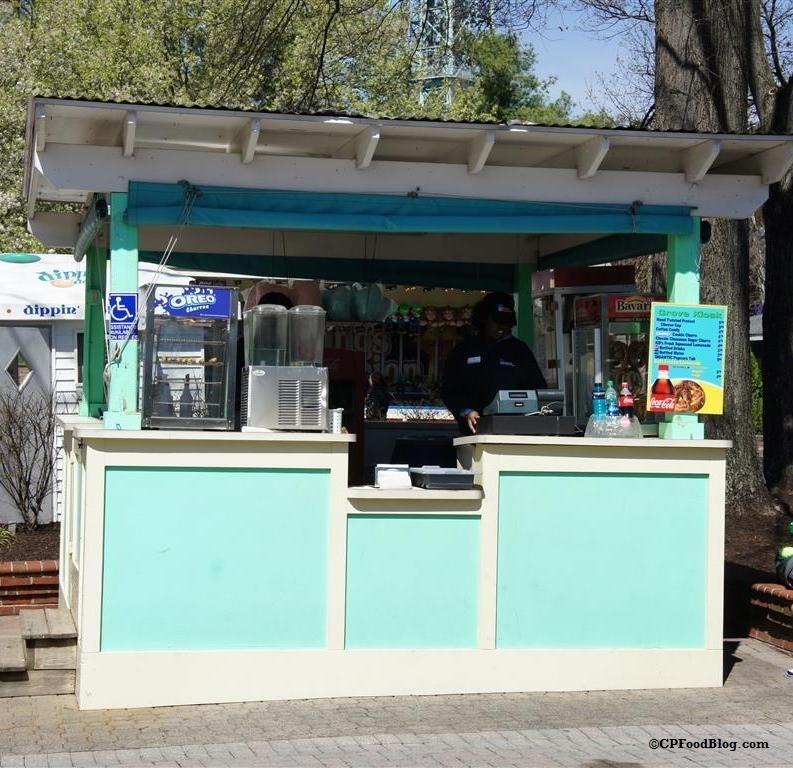 160330 Kings Dominion Grove Kiosk