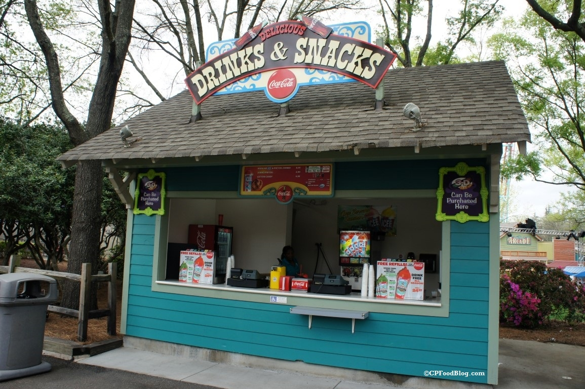 160331 Carowinds Drinks & Snacks Stand