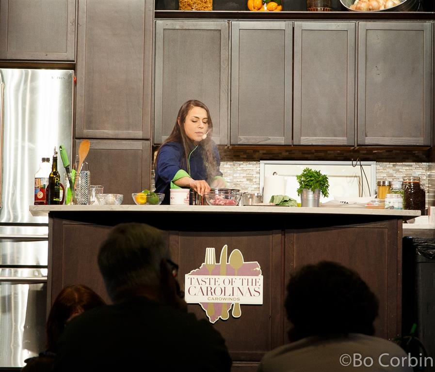 160416 Carowinds Taste of the Carolinas Chef Alyssa ©Bo Corbin