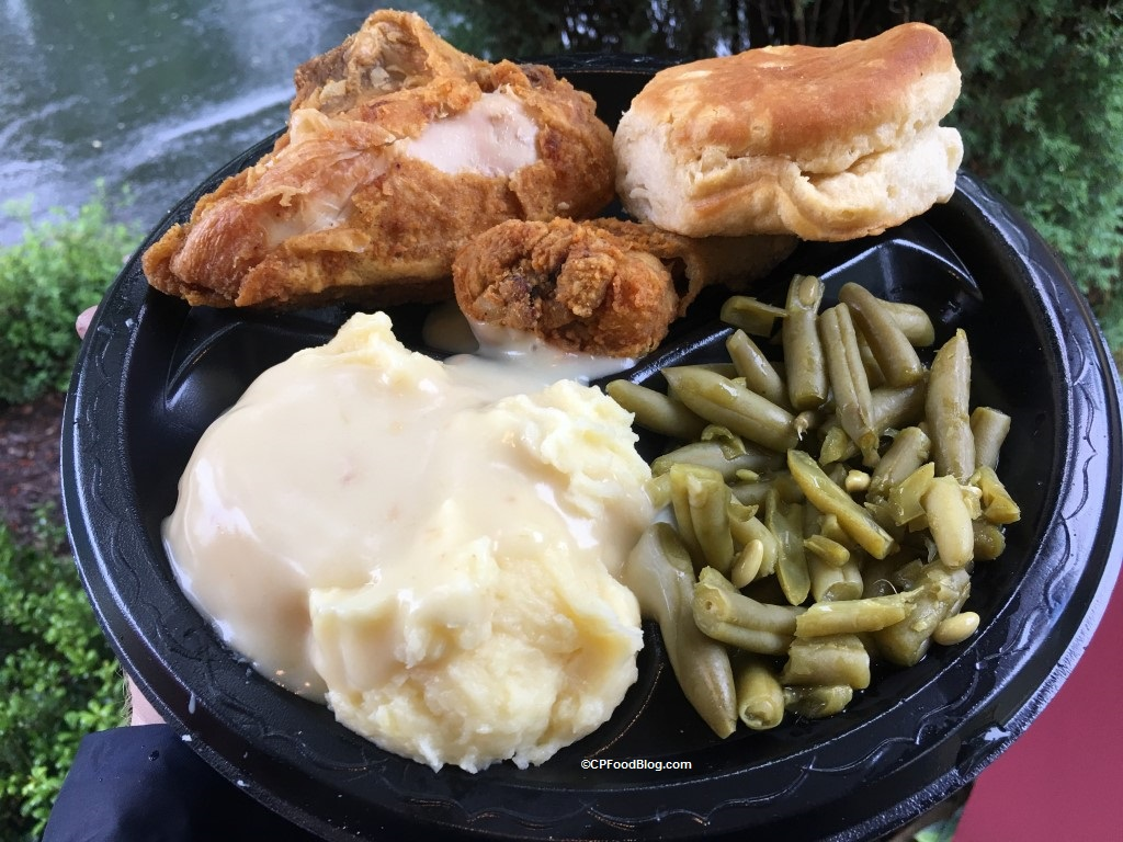 170512 Kings Dominion Country Kitchen Fried Chicken Plate