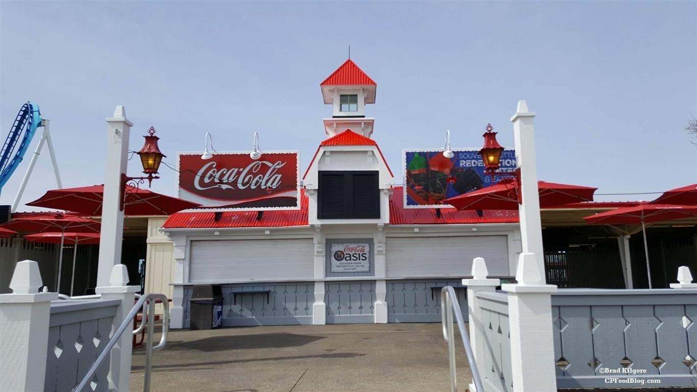 160430 Cedar Point Coca-Cola Oasis
