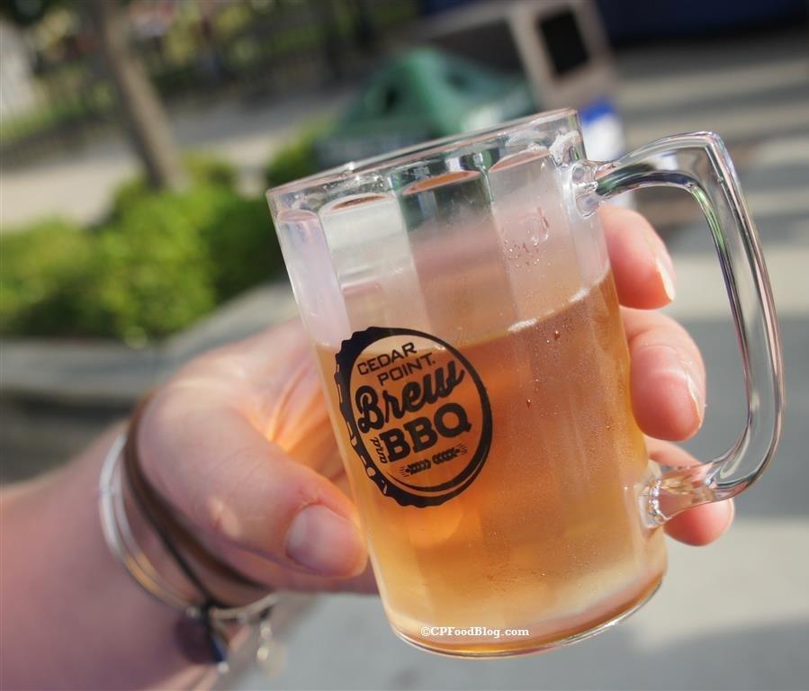 160527 Cedar Point Brew & BBQ Beer Sample