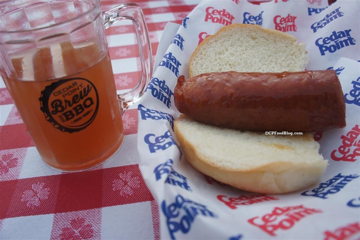 160527 Cedar Point Brew & BBQ Smoked Sausage