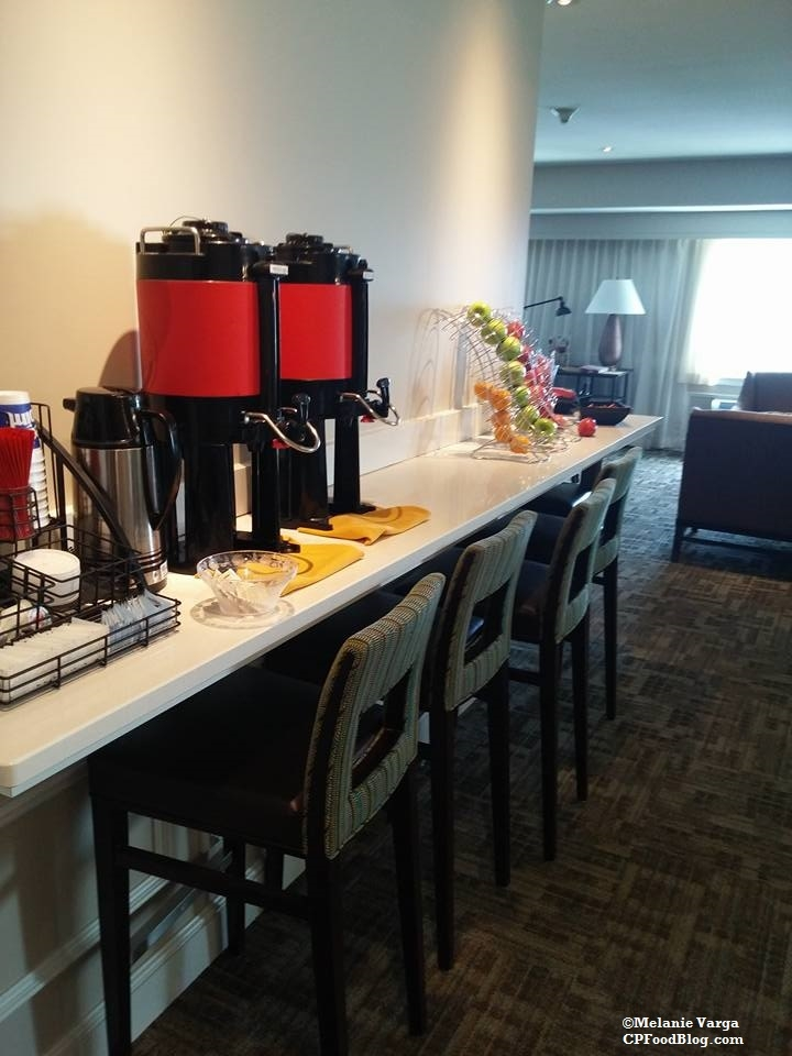 160603 Cedar Point Concierge Suite, Afternoon Reception Fruit & Coffee