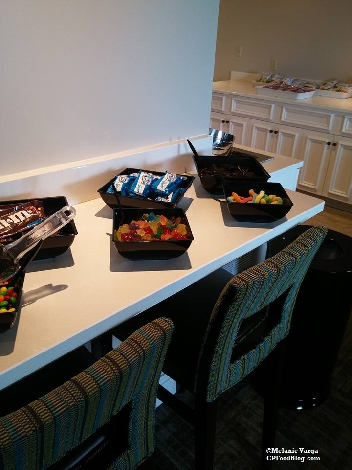 160603 Cedar Point Concierge Suite, Afternoon Reception Snacks & Candy 2