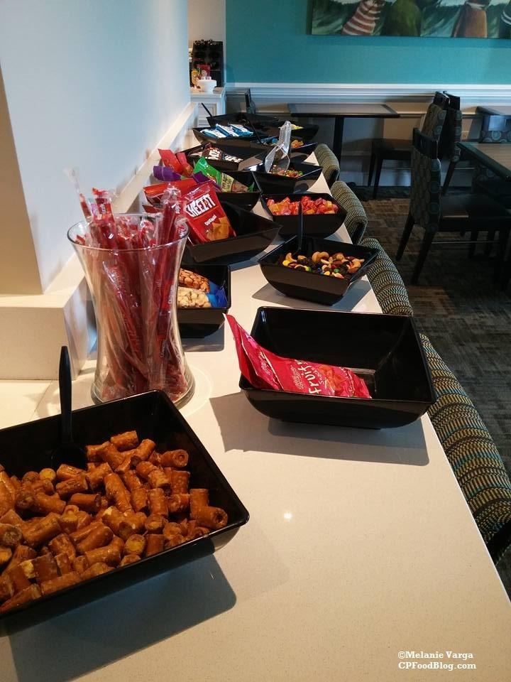 160603 Cedar Point Concierge Suite, Afternoon Reception Snacks & Candy