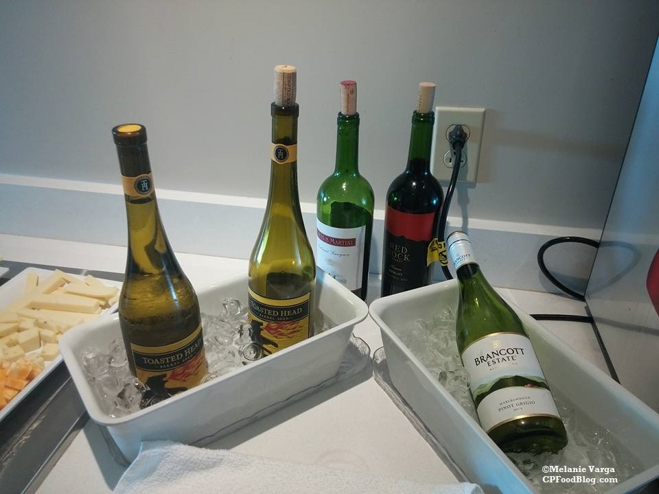 160603 Cedar Point Concierge Suite, Evening Reception Wine