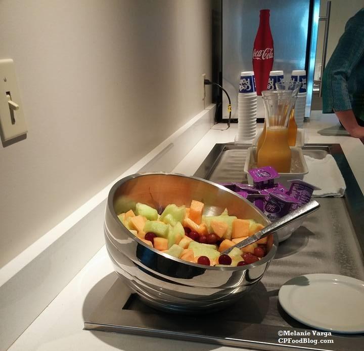 160604 Cedar Point Concierge Suite, Breakfast Reception 1