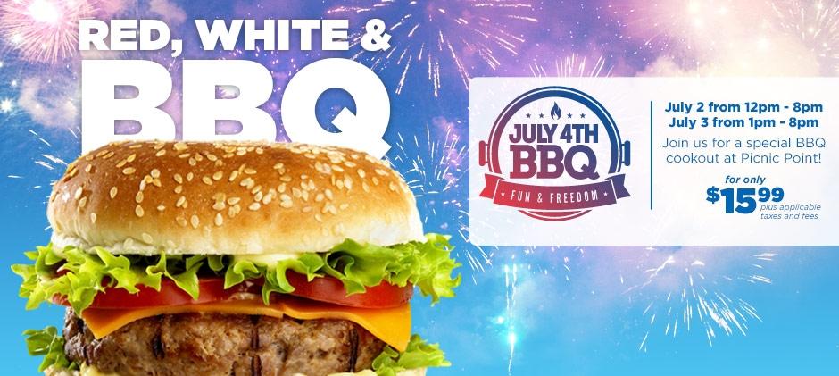 2016 Valleyfair 4th of July BBQ