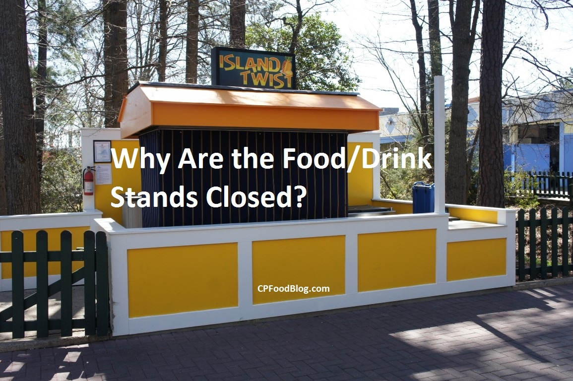 Why Are the Food Drink Stands Closed
