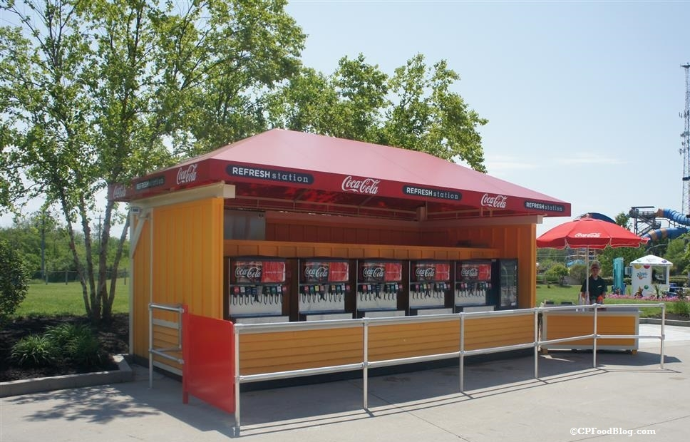 160522 Kings Island Soak City Coca-Cola Refresh Station