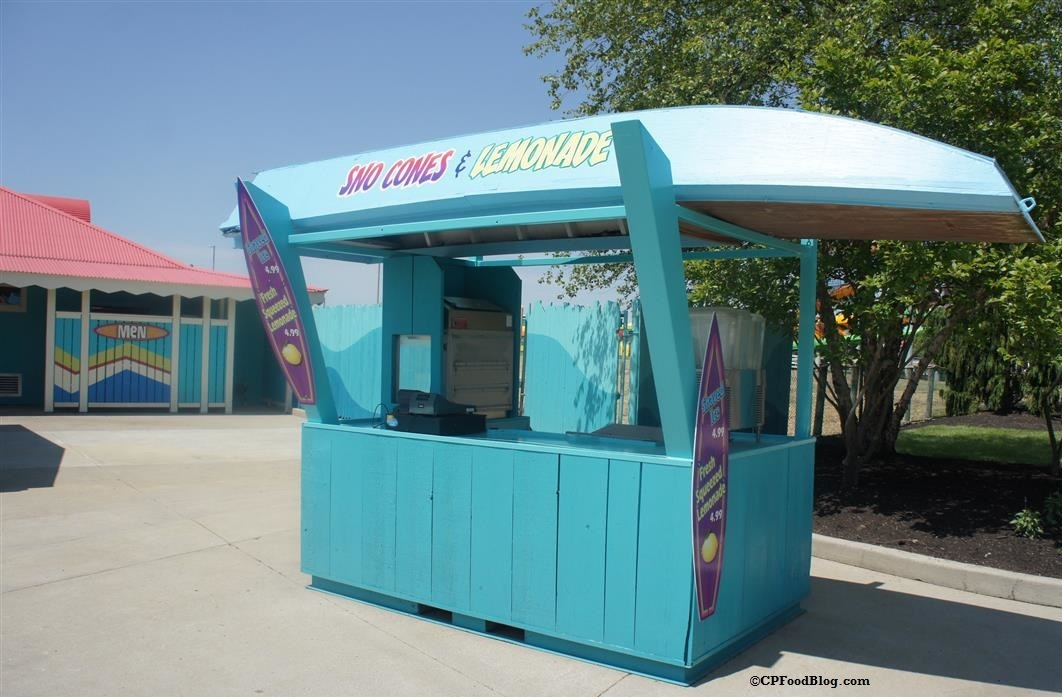 160522 Kings Island Soak City Sno-Cones & Lemonade