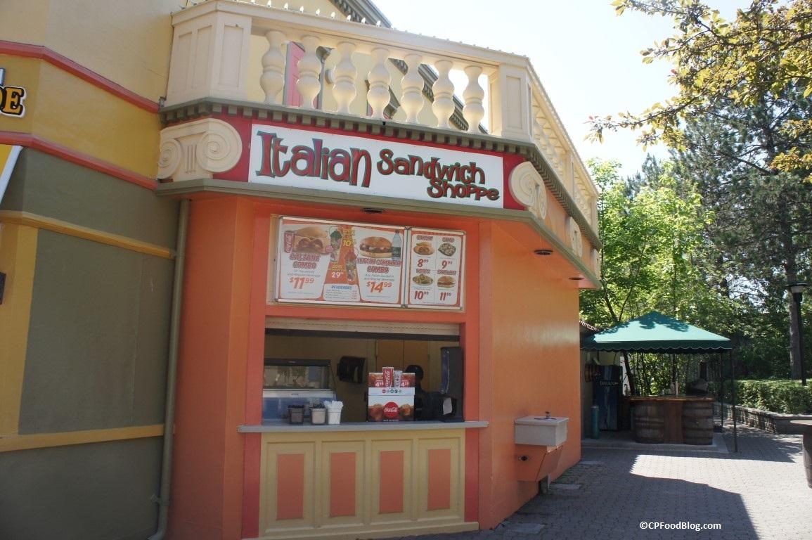 160625 Canada's Wonderland Italian Sandwich Shop