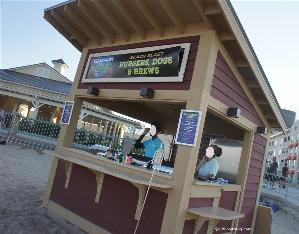 160715 Cedar Point Nights Beach Blast Food Stand