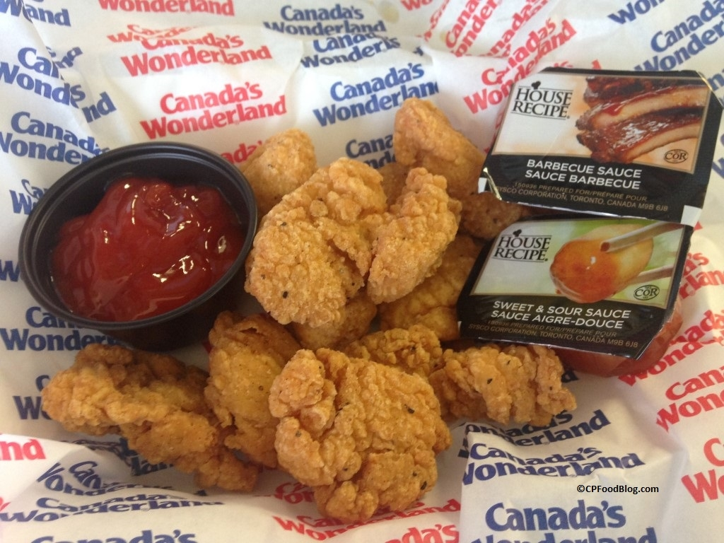 150717 Canada's Wonderland Chicken Shack 10-Piece Nuggets