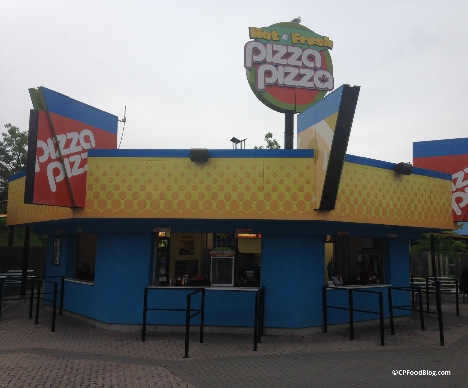 150717 Canada's Wonderland Planet Snoopy Pizza Pizza