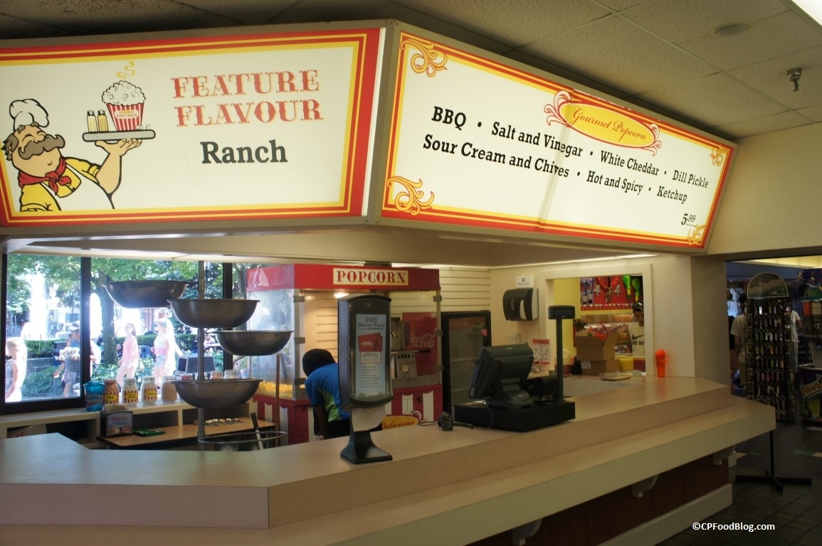 160625 Canada's Wonderland Gourmet Popcorn