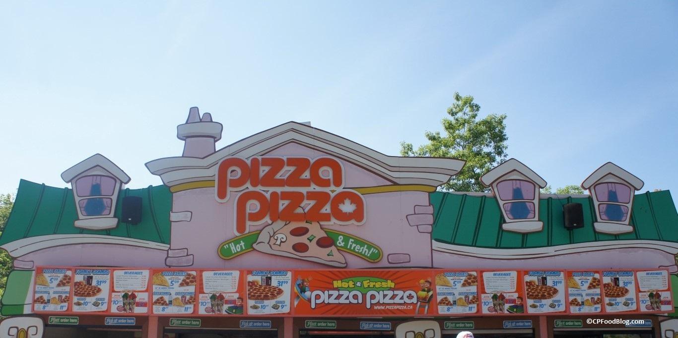 160625 Canada's Wonderland KidZville Pizza Pizza
