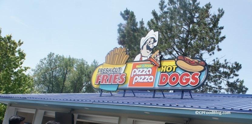 160626 Canada's Wonderland Expo Snacks Pizza Pizza