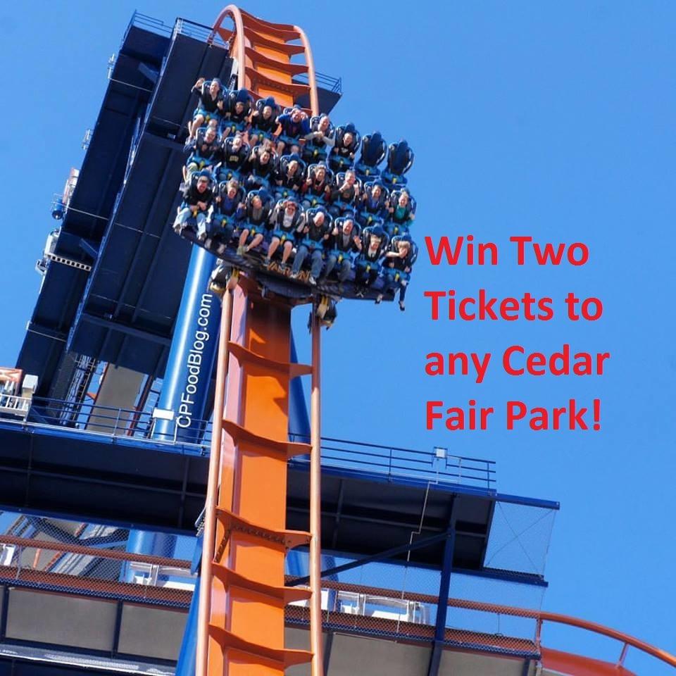 160805 Win Two Tickets to Any Cedar Fair Park