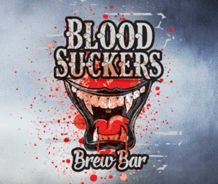 2016 Valleyscare Blood Suckers Brew Bar Logo