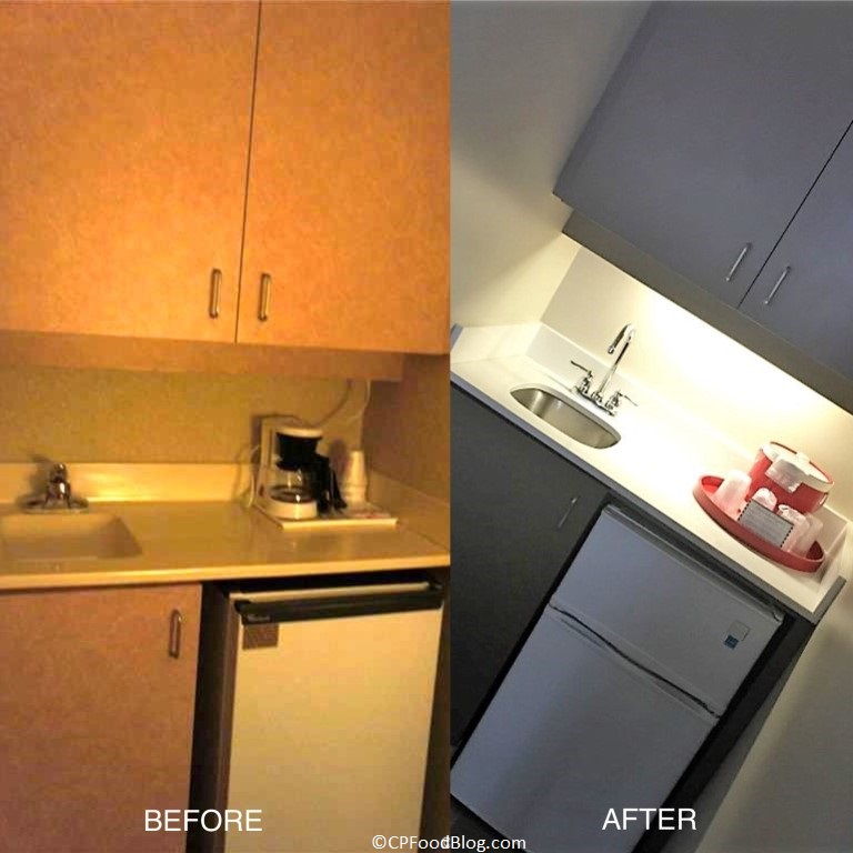 cedar-point-hotel-breakers-suite-kitchen-before-after