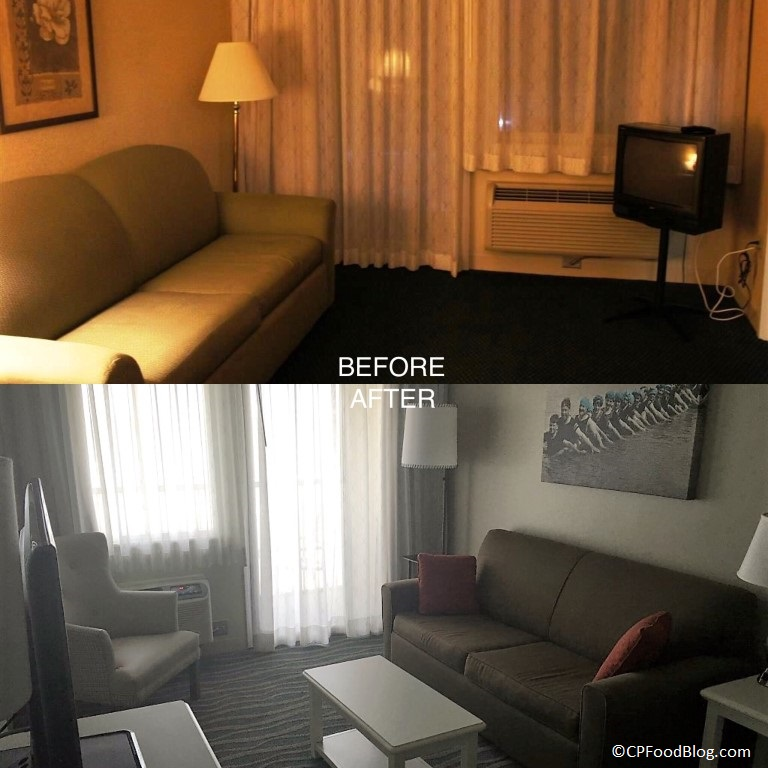 cedar-point-hotel-breakers-suite-sitting-area-before-after